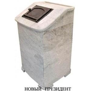 Банная печь Kastor KS 37 JK Новый Президент в камне