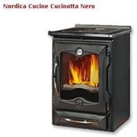 Отопительно-варочная печь La Nordica Cucinotta Nero