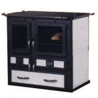 Печь-плита DESIRE 860 (белая)
