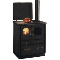 Печь-плита SOGNO 35 (черная)